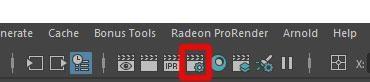 Select Display Render Settings