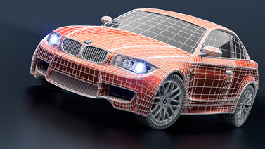 Rendering a Wireframe over the Mesh