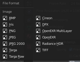 File Formats and Export Quality in Blender